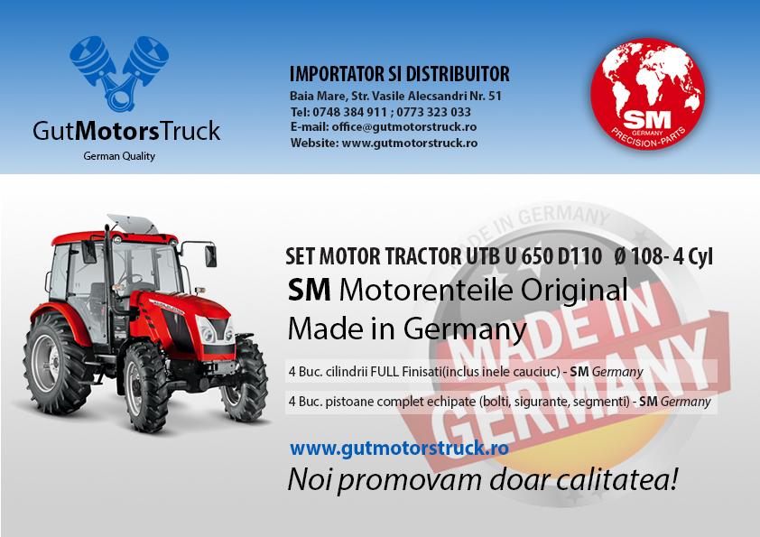 eticheta set motor tractor utb u650